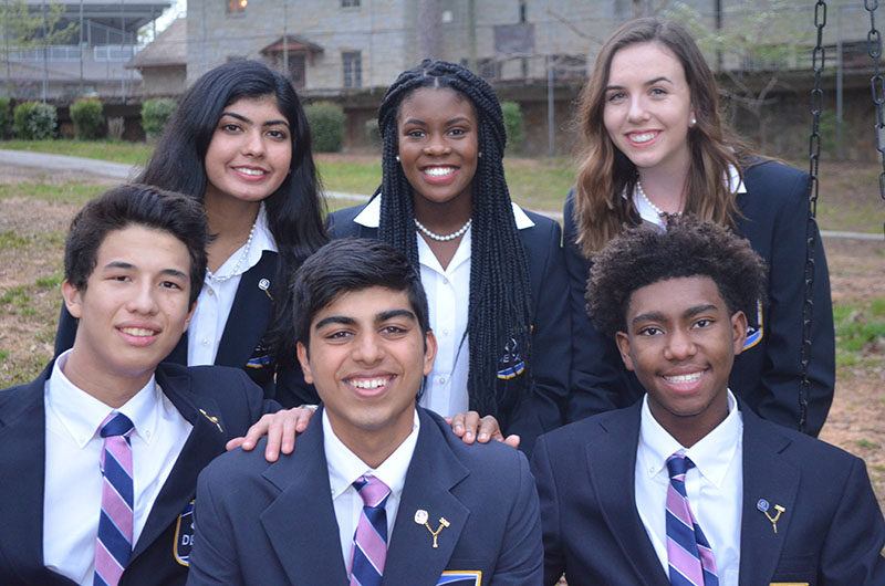Georgia DECA 2019-20 State Executive Team
